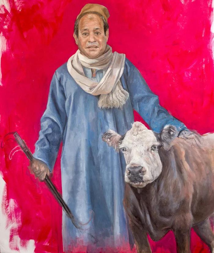Ο σύριος καλλιτέχνης που μεταμόρφωσε τους πολιτικούς ηγέτες σε πρόσφυγες - εικόνα 7