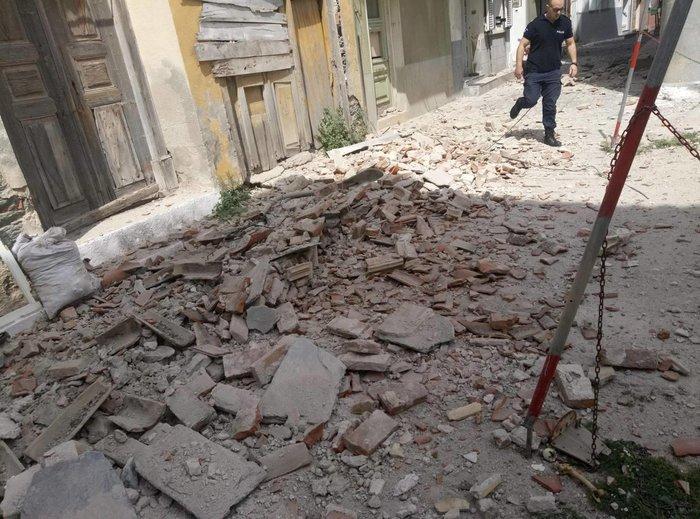 Ισχυρή σεισμική δόνηση 6,1 ρίχτερ ανάμεσα σε Μυτιλήνη και Χίο - εικόνα 6