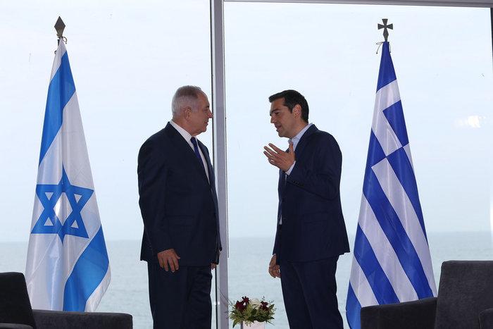 Τριμερής Τσίπρα-Αναστασιάδη-Νετανιάχου στη Θεσσαλονίκη - εικόνα 4