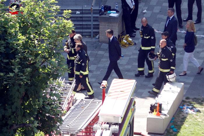 H Mέι στον πύργο της τραγωδίας, δεν είδε τους κατοίκους - εικόνα 3