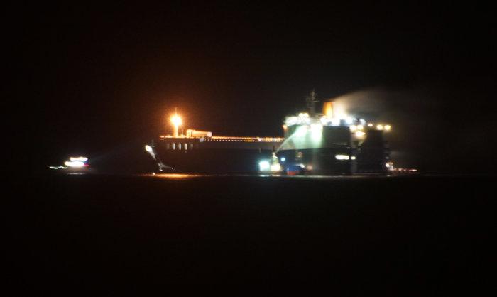 Φωτιά σε φορτηγό οχηματαγωγό πλοίο Το πλήρωμα προχωρά σε εγκατάλειψη του