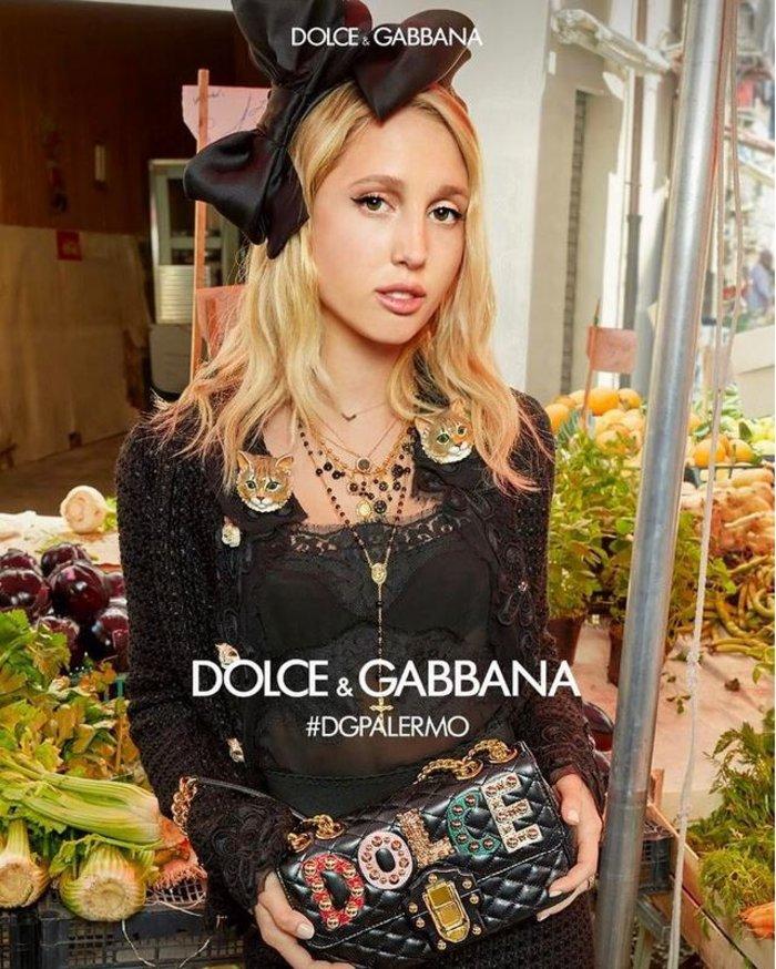 Μαρία Ολυμπία: Μούσα των Dolce & Gabbana η 20χρονη κόρη της Μαρί Σαντάλ