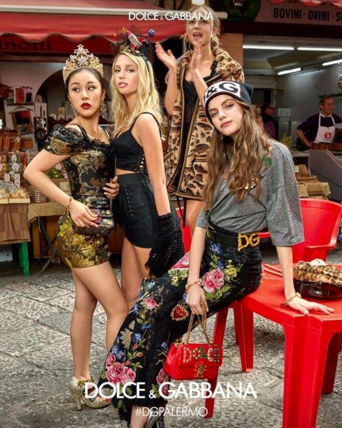 Μαρία Ολυμπία: Μούσα των Dolce & Gabbana η 20χρονη κόρη της Μαρί Σαντάλ - εικόνα 2