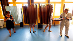 Σε ιστορικό ρεκόρ η αποχή έως και 57%  στις γαλλικές εκλογές