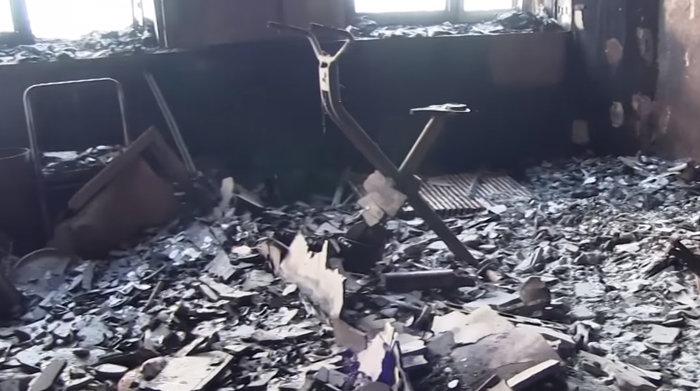Τι άφησε πίσω της η κόλαση φωτιάς στον πύργο του Λονδίνου