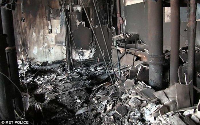 Τι άφησε πίσω της η κόλαση φωτιάς στον πύργο του Λονδίνου - εικόνα 3