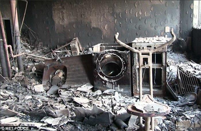 Τι άφησε πίσω της η κόλαση φωτιάς στον πύργο του Λονδίνου - εικόνα 6