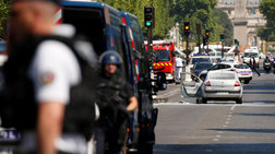 Οι Γάλλοι απέτρεψαν επίθεση κοντά στα Ηλύσια Πεδία- Βαρύ οπλοστάσιο στο βαν