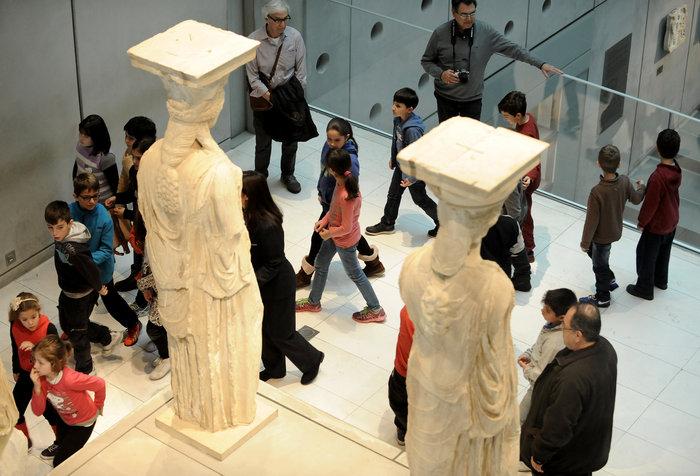 Το Μουσείο Ακρόπολης γίνεται 8 ετών...και το γιορτάζει