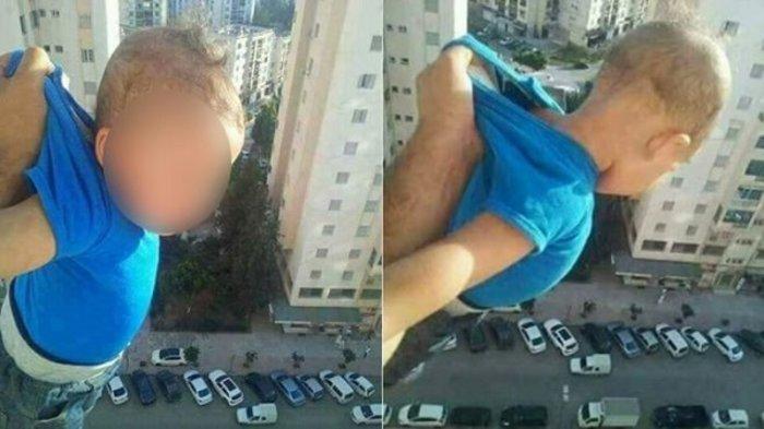 """""""Κρέμασε"""" το μωρό από το παράθυρο του 15ου ορόφου για τα like"""