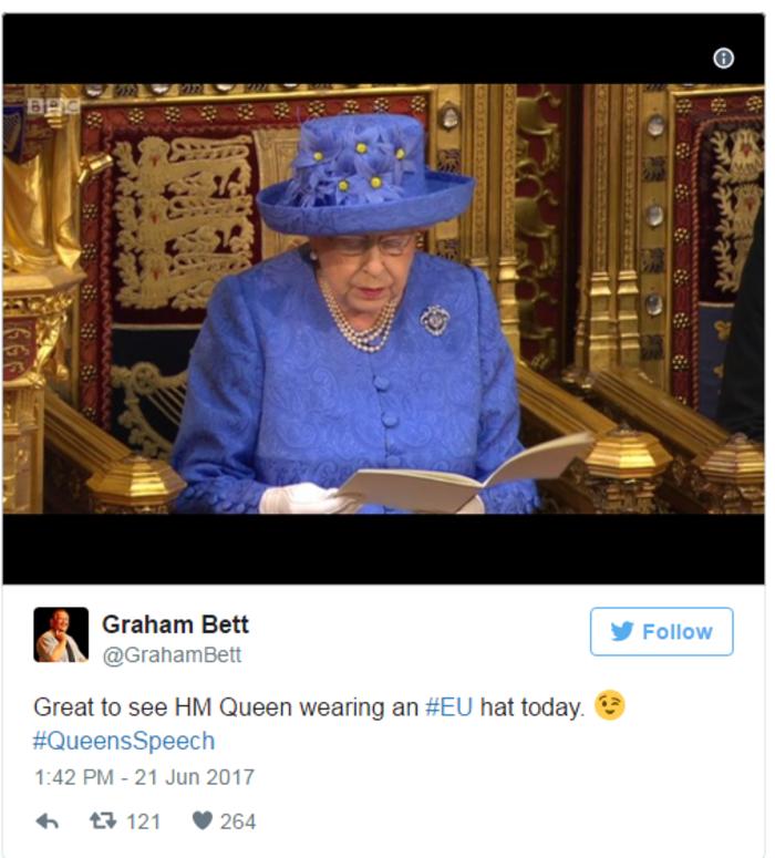 Τελικά έστειλε η βασίλισσα Ελισάβετ «κρυφό» μήνυμα για το Brexit;