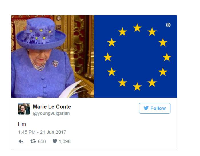 Τελικά έστειλε η βασίλισσα Ελισάβετ «κρυφό» μήνυμα για το Brexit; - εικόνα 2