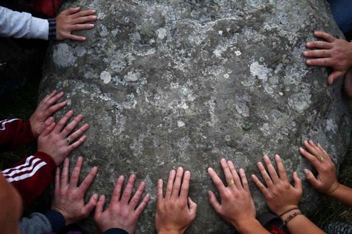 Η γιορτινή υποδοχή του θερινού ηλιοστασίου στο Stonehenge - εικόνα 4