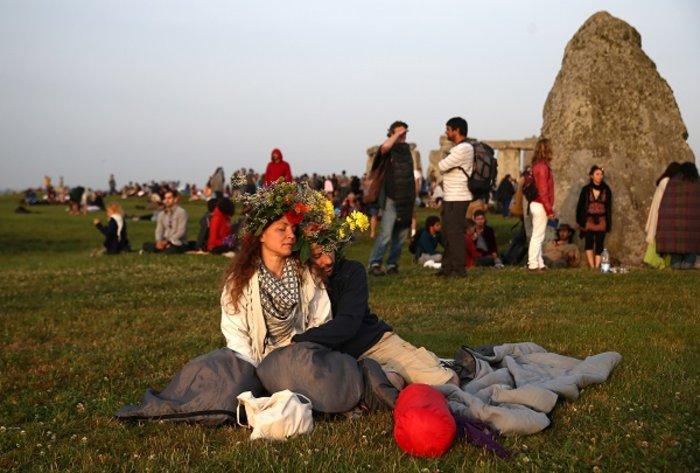 Η γιορτινή υποδοχή του θερινού ηλιοστασίου στο Stonehenge - εικόνα 9