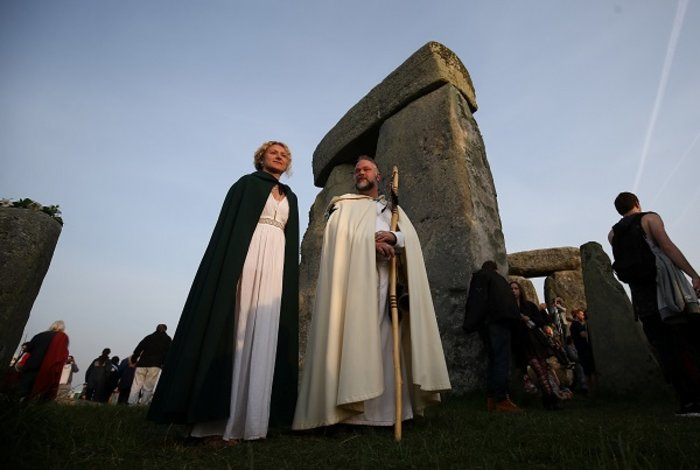 Η γιορτινή υποδοχή του θερινού ηλιοστασίου στο Stonehenge - εικόνα 10