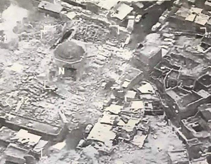 Καταστράφηκε εμβληματικό τέμενος 900 ετών στη Μοσούλη