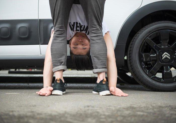 Μαζί με ποιο γαλλικό αυτοκίνητο μπορείς να κάνεις ασκήσεις Yoga; - εικόνα 5