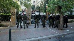 Τραυματίστηκε αστυνομικός στην επίθεση στην ΑΣΟΕΕ