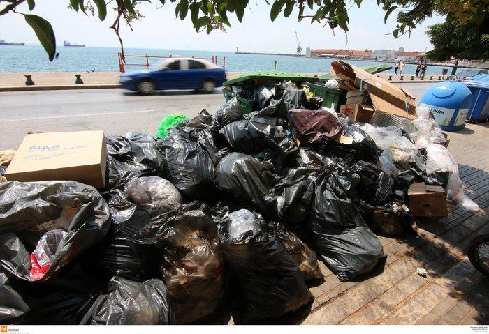 Σε κλοιό σκουπιδιών οι πόλεις - αμετακίνητοι οι εργαζόμενοι - εικόνα 3