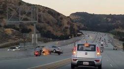 Φοβερό τροχαίο μετά από καβγά οδηγών σε αυτοκινητόδρομο των ΗΠΑ -βίντεο