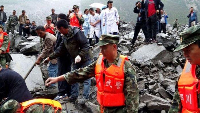 Τραγωδία στην Κίνα: 140 άνθρωποι θάφτηκαν ζωντανοί λόγω κατολίσθησης - εικόνα 3