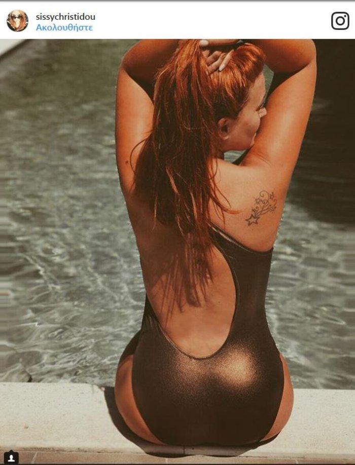 Αυτή είναι από τις πιο σέξι πόζες που ανάρτησε η Σ. Χρηστίδου στο Instagram