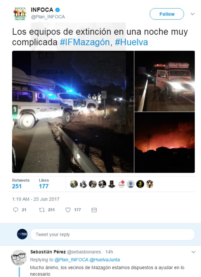 Κόλαση φωτιάς στη Ν. Ισπανία - Εγκλωβισμένοι 50.000 άνθρωποι - εικόνα 8