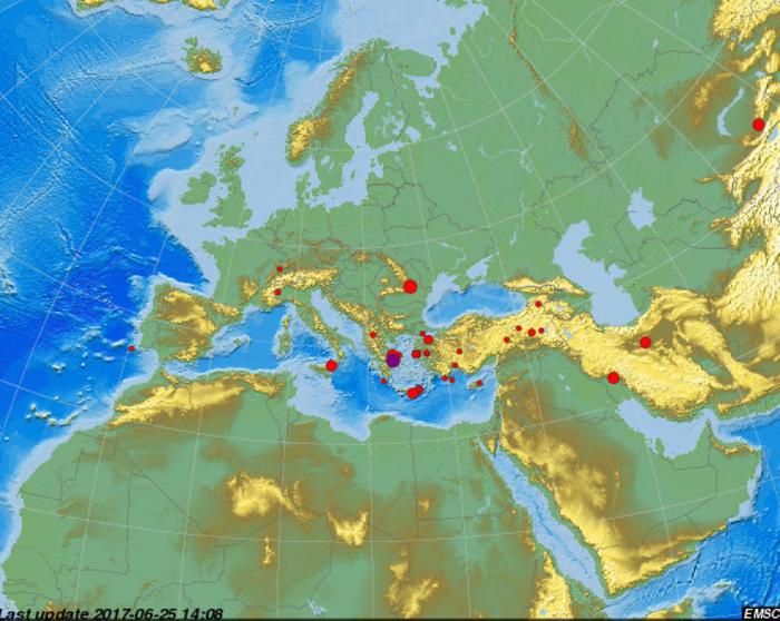 Σεισμική δόνηση αισθητή στην Αθήνα - εικόνα 2