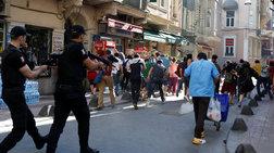 Συλλήψεις & πλαστικές σφαίρες στο Gay Pride στην πλατεία Ταξίμ