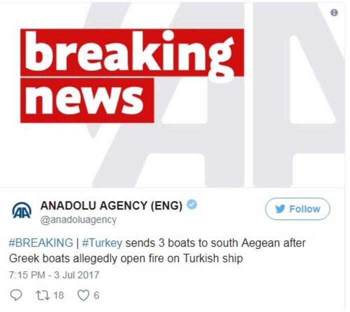Θρίλερ στο Αιγαίο: Σκάφος του λιμενικού άνοιξε πυρ κατά τουρκικού πλοίου - εικόνα 5