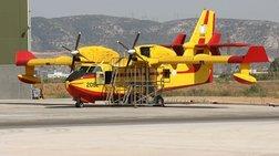 Στην αεροπορική βάση της Ελευσίνας ο Τσίπρας με τον Τόσκα