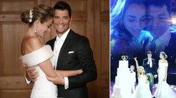 Οταν ο Σάκης παντρεύτηκε την Κάτια: Το άλμπουμ του υπέροχου γάμου τους