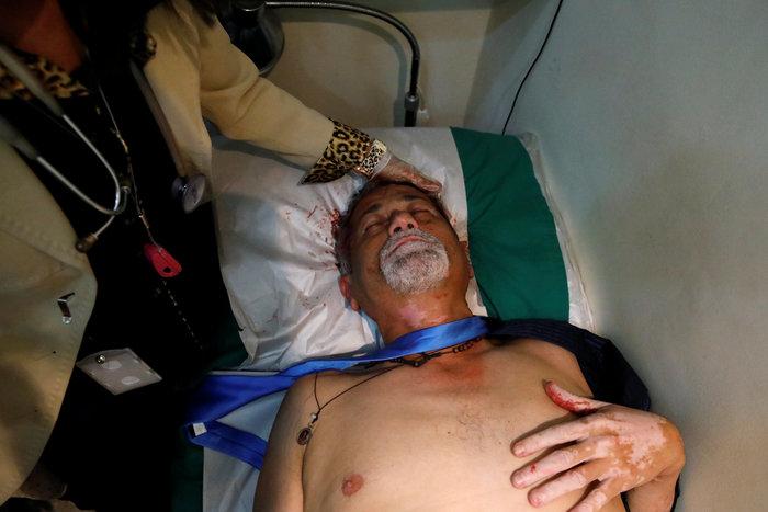 Βενεζουέλα: Αιματηρή εισβολή οπαδών του Μαδούρο στο κοινοβούλιο-video - εικόνα 5