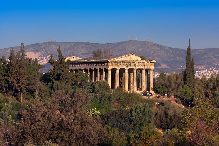 Ο ναός του Ηφαίστου (Θησείο)
