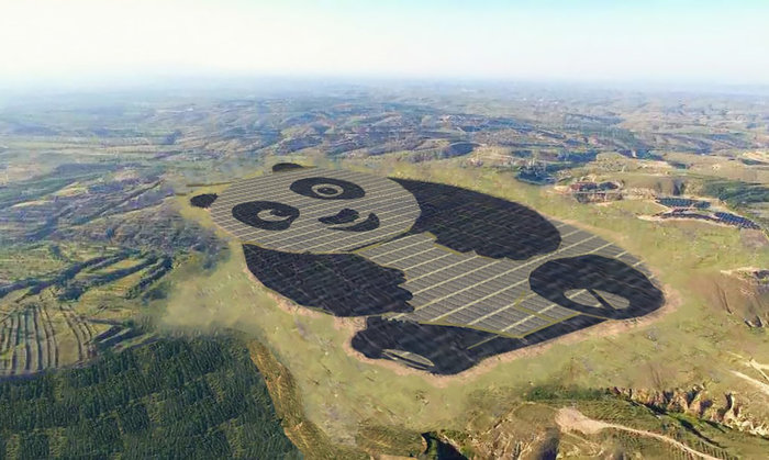 Στην Κίνα βάζουν γιγαντιαία Πάντα να παράγουν ενέργεια