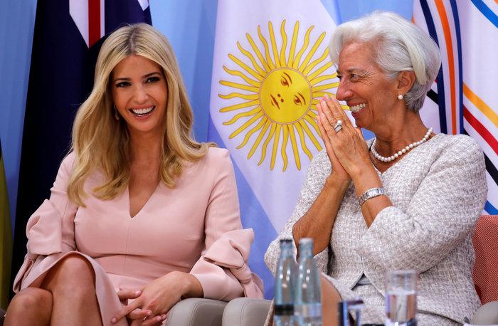 G20: Η εκθαμβωτική εμφάνιση της Ιβάνκα Τραμπ - εικόνα 3