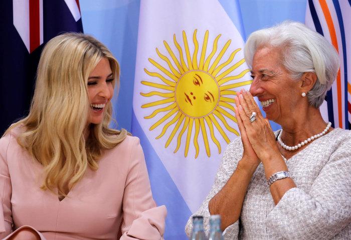 G20: Η εκθαμβωτική εμφάνιση της Ιβάνκα Τραμπ - εικόνα 4