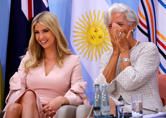 G20: Η εκθαμβωτική εμφάνιση της Ιβάνκα Τραμπ - εικόνα 5