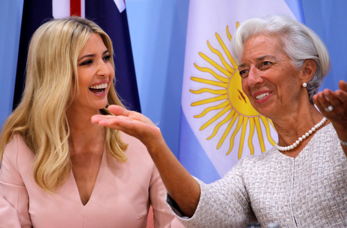 G20: Η εκθαμβωτική εμφάνιση της Ιβάνκα Τραμπ - εικόνα 6