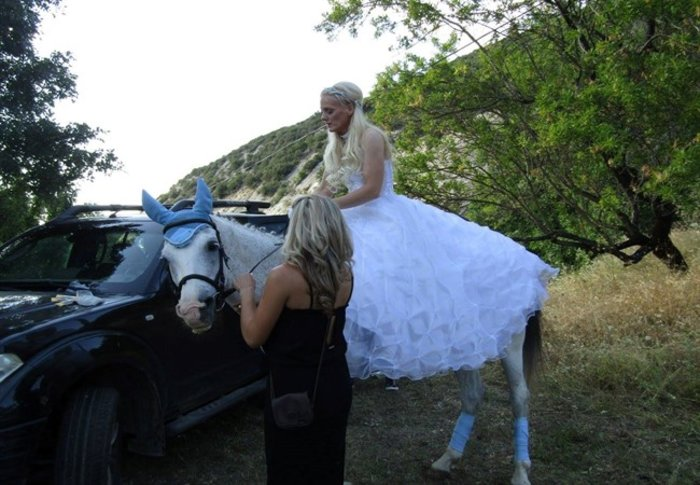 Γιάννενα: Ο ξεχωριστός γάμος της «αμαζόνας» και του «πεταλωτή» -φωτό - εικόνα 3