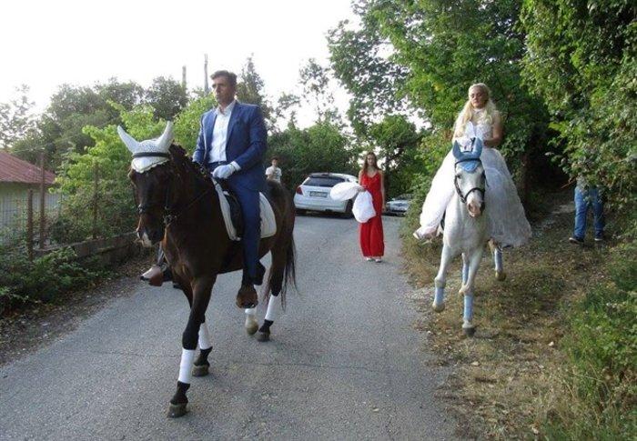 Γιάννενα: Ο ξεχωριστός γάμος της «αμαζόνας» και του «πεταλωτή» -φωτό - εικόνα 4