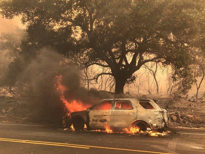 Γιγαντιαίες πυρκαγιές κατακαίουν δασικές εκτάσεις στα δυτικά ΗΠΑ - Καναδά - εικόνα 2