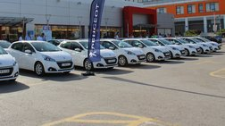 Πόσα Peugeot αγόρασε ελληνική αλυσίδα super market και γιατί;