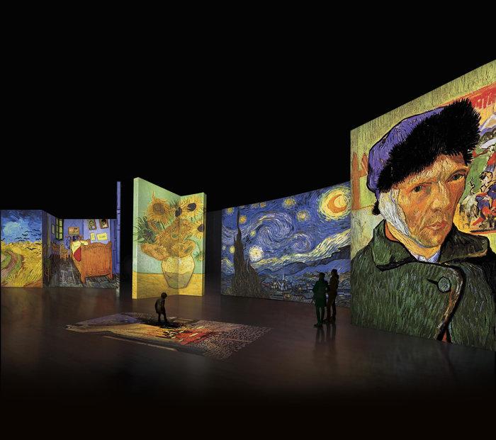 Van Gogh Alive – the experience, μια αλλιώτικη έκθεση στην Αθήνα