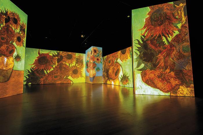 Van Gogh Alive – the experience, μια αλλιώτικη έκθεση στην Αθήνα - εικόνα 2