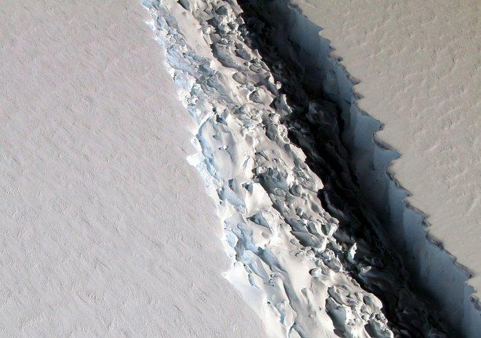 Ανταρκτική: Αποκολλήθηκε τεράστιο παγόβουνο με μέγεθος όσο η Κύπρος-Εικόνες