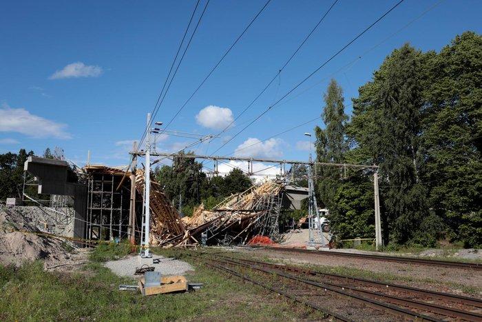 Σουηδία: Δώδεκα τραυματίες από κατάρρευση γέφυρας-φωτό