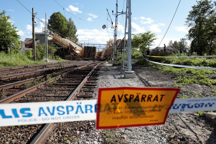 Σουηδία: Δώδεκα τραυματίες από κατάρρευση γέφυρας-φωτό - εικόνα 3