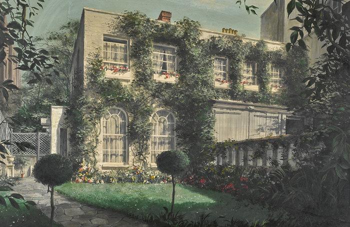 Felix Kelly, Durham Cottage (από την προσωπική συλλογή έργων τέχνης της Βίβιαν Λι)