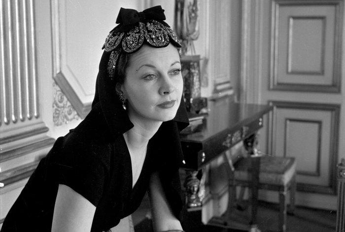 Η Βίβιαν Λι σε πορτρέτο του Σεσίλ Μπίτον (1947)